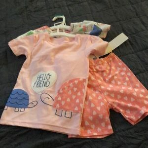 NWT Carter's Just One You 4T PJ Set 4 Pieces